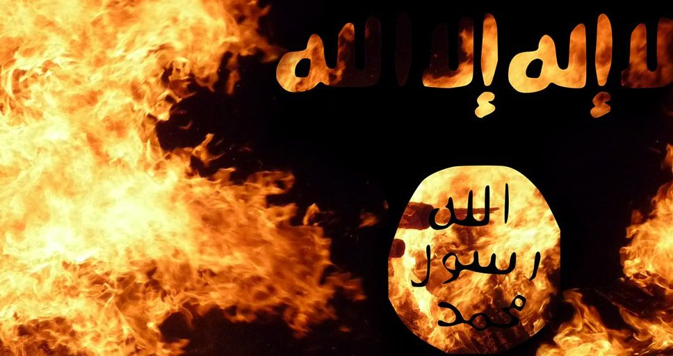 isis-the-beginning-burning-flag