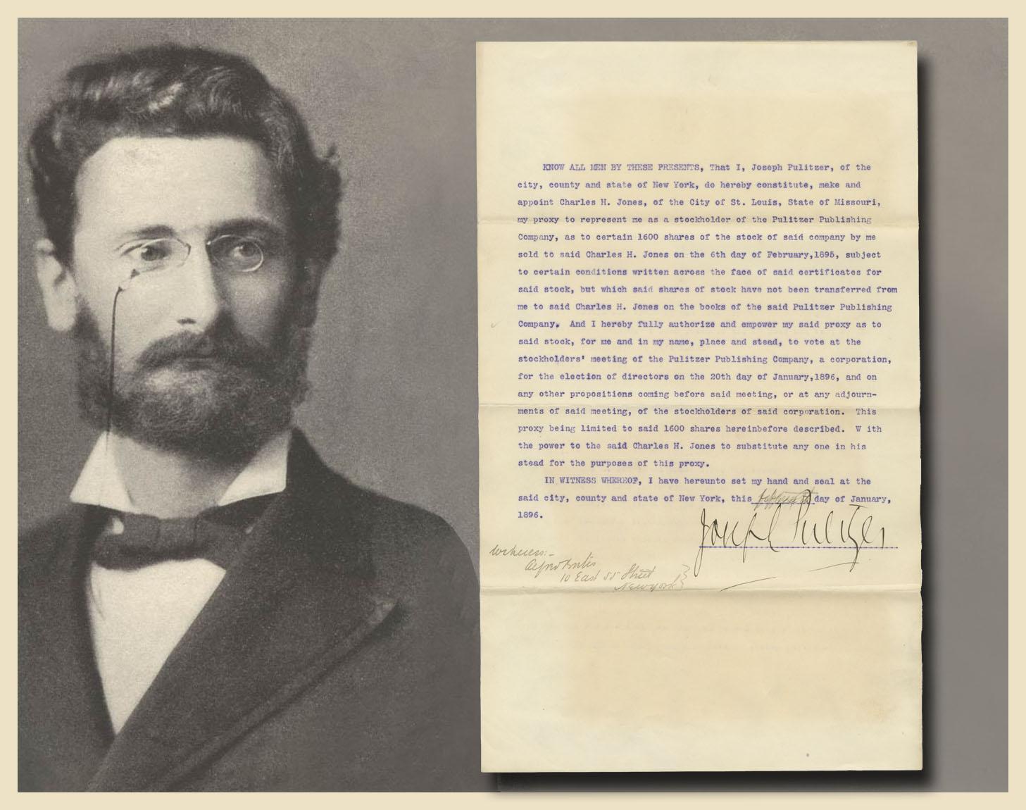 3. Joseph Pulitzer