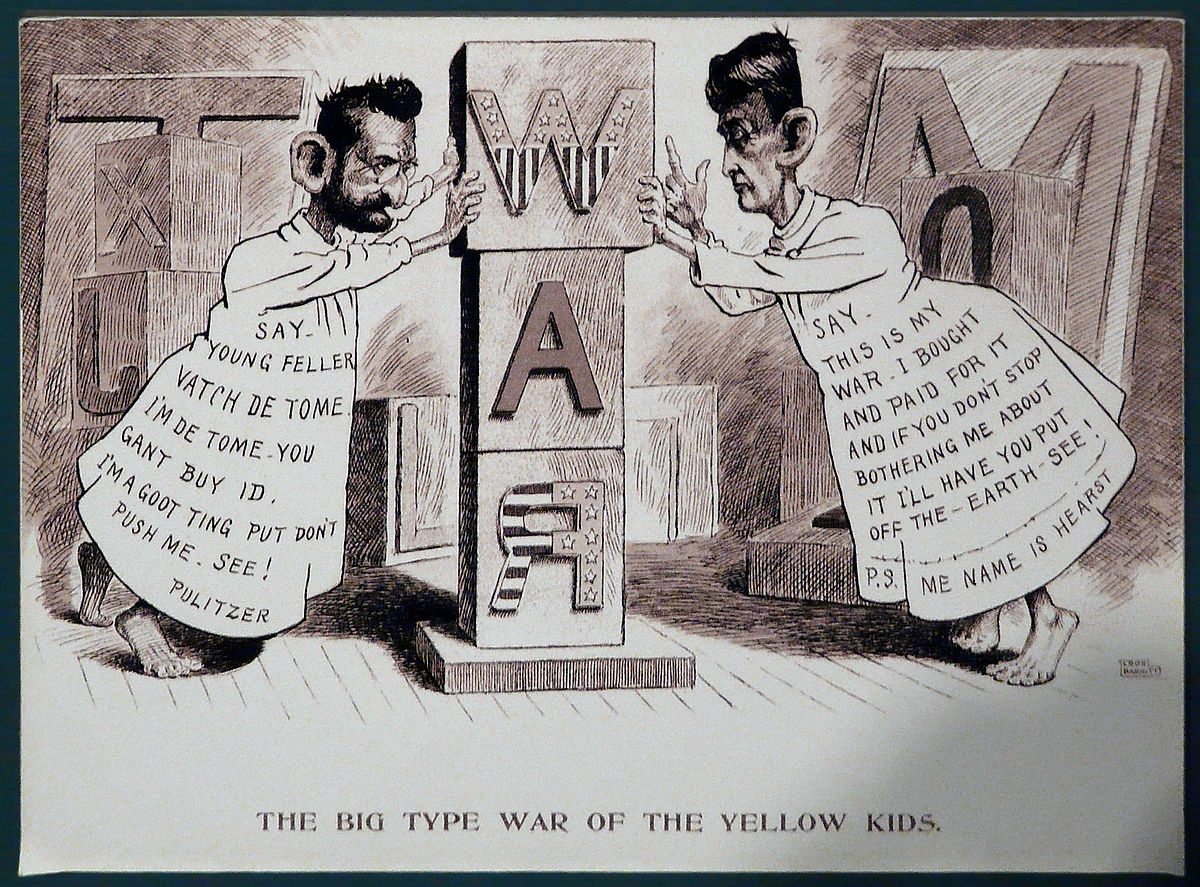 12. Κίτρινος Τύπος: Χρονολόγιο