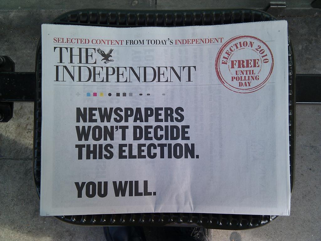 Δημοσιογράφοι στις εκλογές