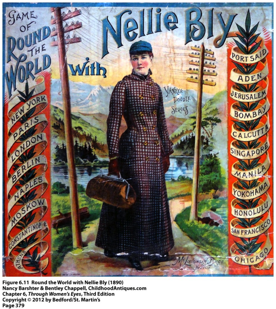 8. NELLIE BLY