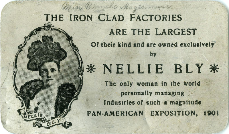 11. NELLIE BLY