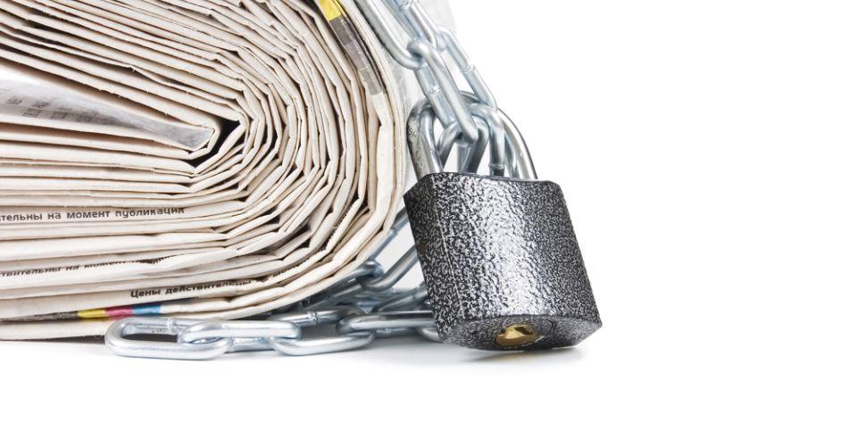 """Τουρκία: η """"ακτινογραφία"""" των λουκέτων στα ΜΜΕ"""