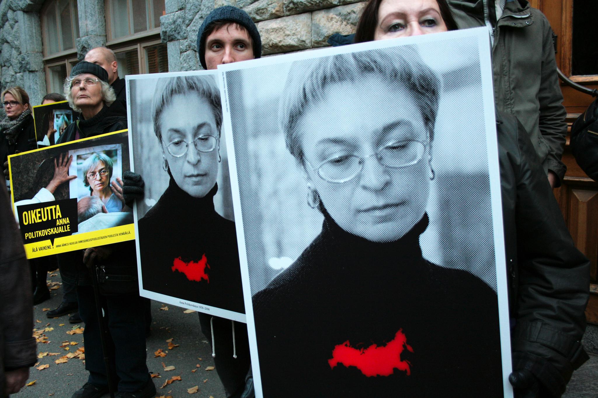 10 χρόνια χωρίς την Άννα Πολιτκόφσκαγια