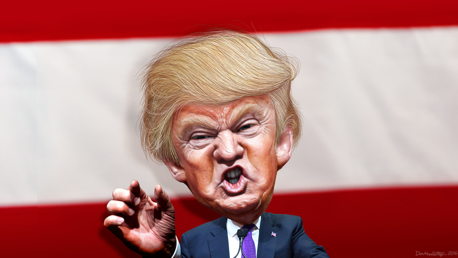 """Ο Τραμπ αποκλείει media που """"δεν του αρέσουν"""""""