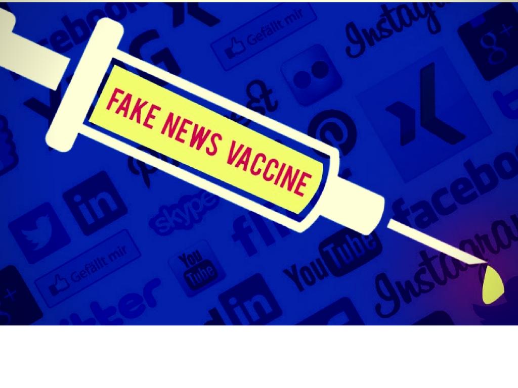 """""""Εμβόλιο"""" κατά του ιού των ψευδών ειδήσεων"""