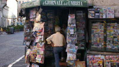 """Ιταλία: """"οι εφημερίδες μολύνουν τη δημόσια συζήτηση"""""""