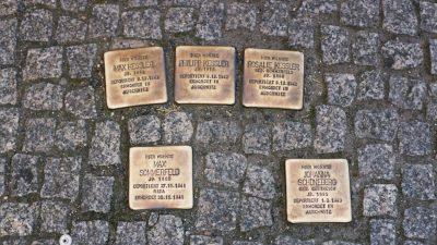 """Μέρκελ: O αντισημιτισμός στη Γερμανία """"δεν εξαφανίστηκε ποτέ"""""""