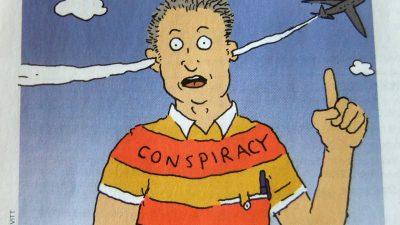 Υπάρχουν ΜΜΕ που δημοσιεύουν θεωρίες όπως… το τσιπάκι του Μπιλ Γκέϊτς