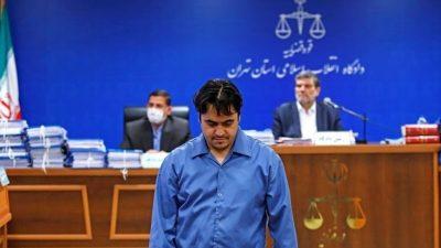 Εκτελέστηκε με απαγχονισμό ο Ιρανός δημοσιογράφος Ρουχολάχ Ζαμ